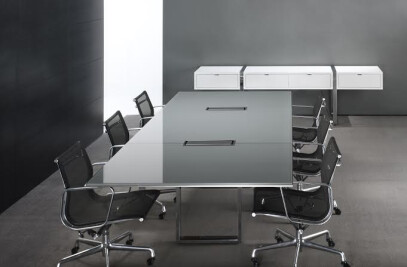 Highline Glass Conference Table