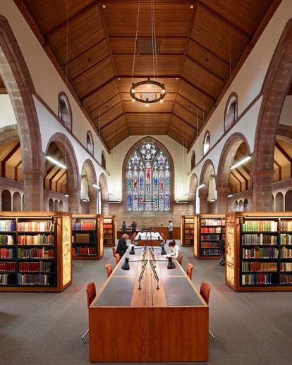 Martyrs Kirk Reading Room in University of St Andrews