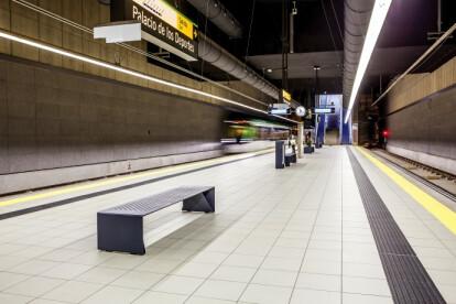 Modern bench RADIUM