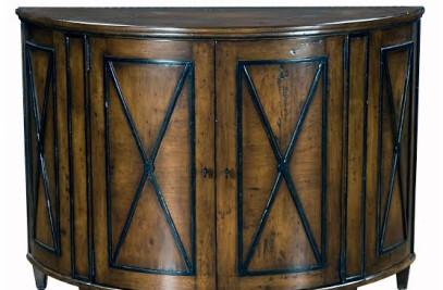Chapman Demilune Cabinet