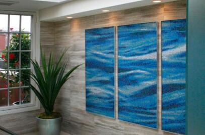 Cascade Tile Pattern