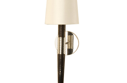 Cooper Shagreen wall sconce