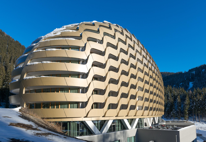 New InterContinental Davos Hotel