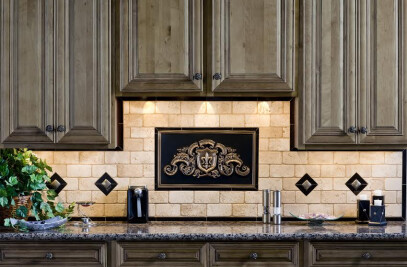 Regal Fleur Plaque Kitchen