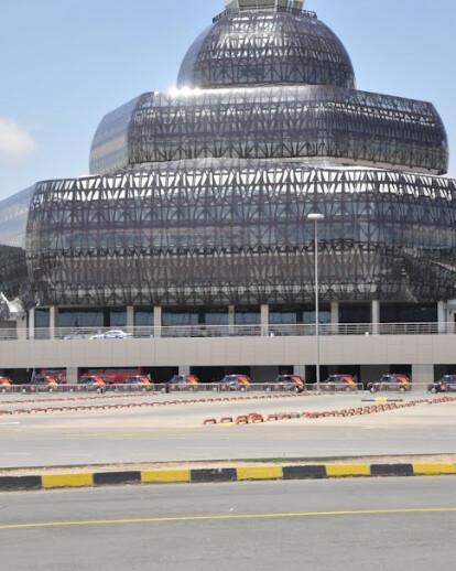 Heydar Aliyev International Airport Terminal