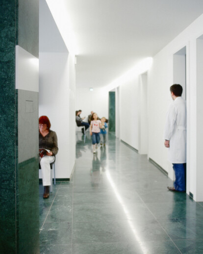 Reconstruction eye clinic in Zurich, Switzerland