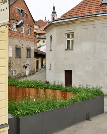 Garden patio of the Peppino restaurant