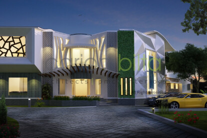 Home Architecture - Front View