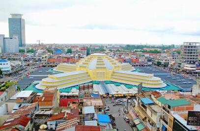 Renovation-extension of Phnom Penh Central Market