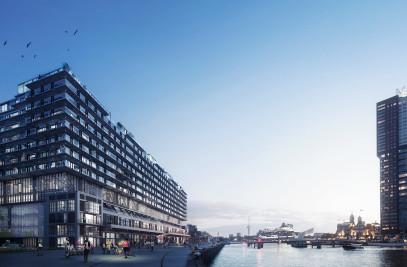 Fenix I, Loft apartments on top of a warehouse
