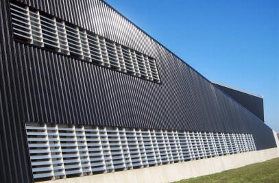 SolarWall® - Solar Air Heating System