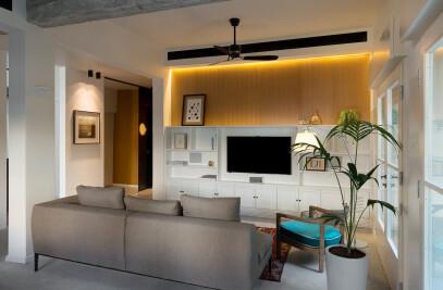Redesign for a singles Bauhaus apartment