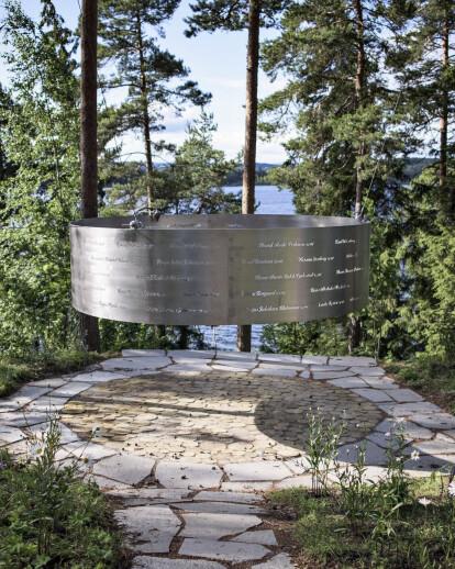 Memorial at Utøya