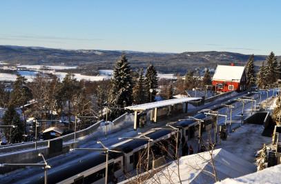 Holmenkollen Metro Station