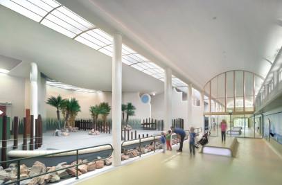 Rhinoceros building, Rotterdam Zoo