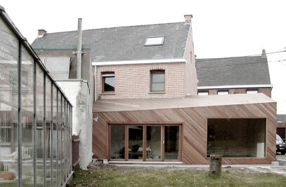 Passive Private House Extension - Buggenhout
