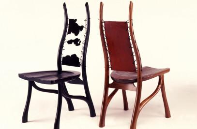 B&W, Slung Carlo Chairs