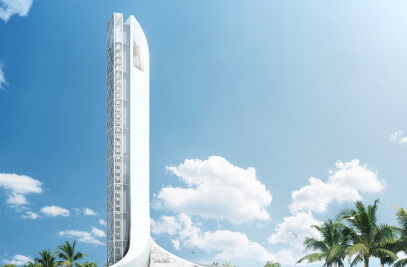 Zhuhai JIANFENG Bridge East Square Landscape Tower