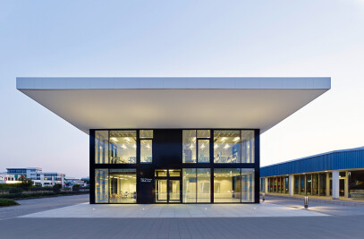 Energy efficient and barrier-free technology centre TBZ, Cologne