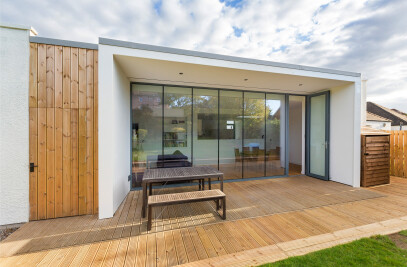 Contemporary Extension to 1930's House
