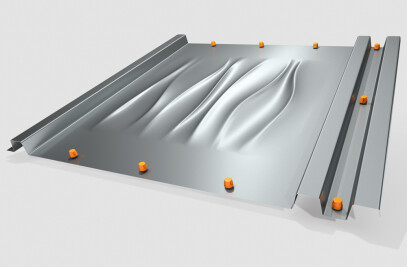 cladding sheets Bacacier by Starck