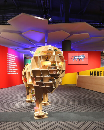 India Pavilion for Hannover Messe 2015