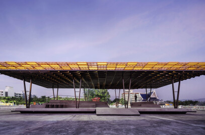 'The Flow' - A Multipurpose Pavilion