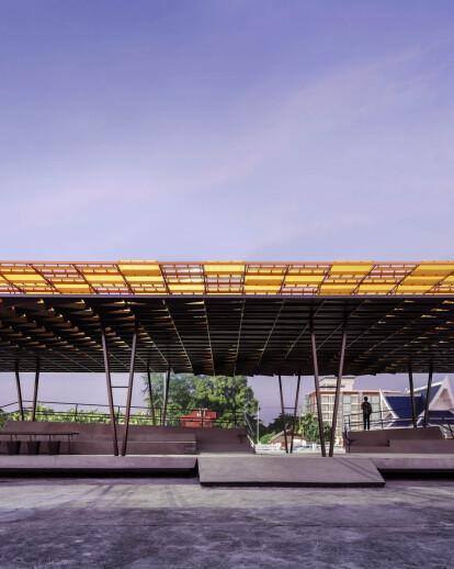 'The Flow' - A Multipurpose Pavilion