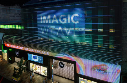 IMAGIC WEAVE - Transparent Media Facade