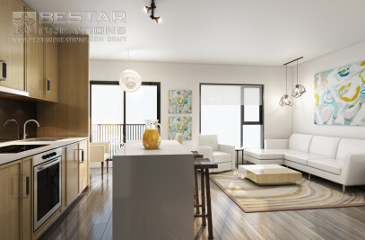 Super high quality 3D Interior renderings
