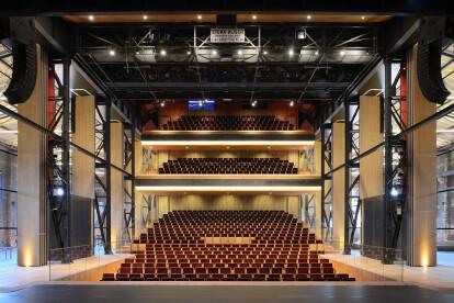 Theatre De Kampanje Glass hall