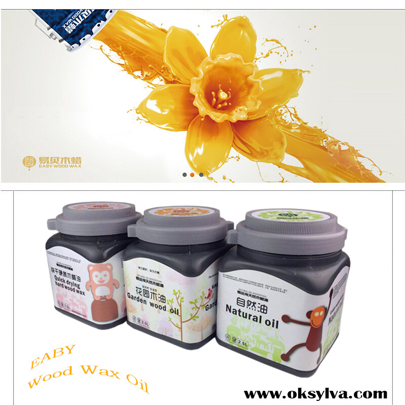 Natural Eco-friendly Wood Wax Oil for inside and outside wood finishing
