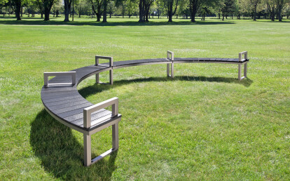 Ogden Bench with Arms