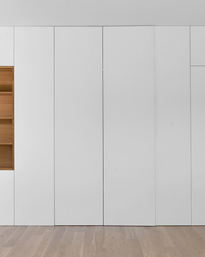 Folding wall apartment