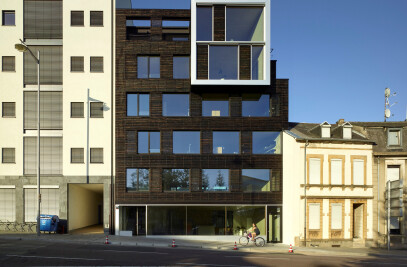 RCD - A new office building for STEINMETZDEMEYER architects