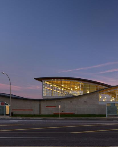Templeton Canada Line Transit Station