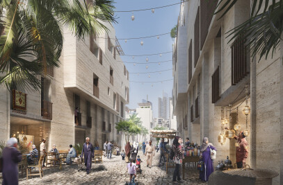 Maspero Triangle District Masterplan Design Competition