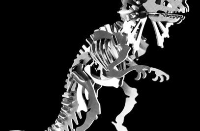 Stainless Steel Dinosaur