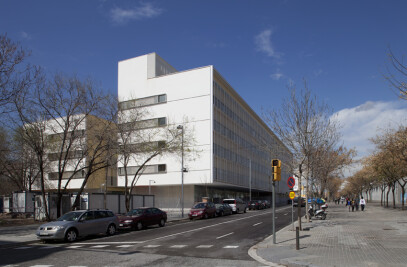Health centre installations in Sant Andreu
