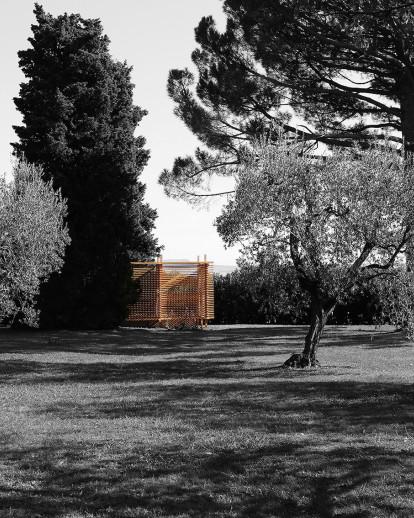 Tea Pavilion in private Villa