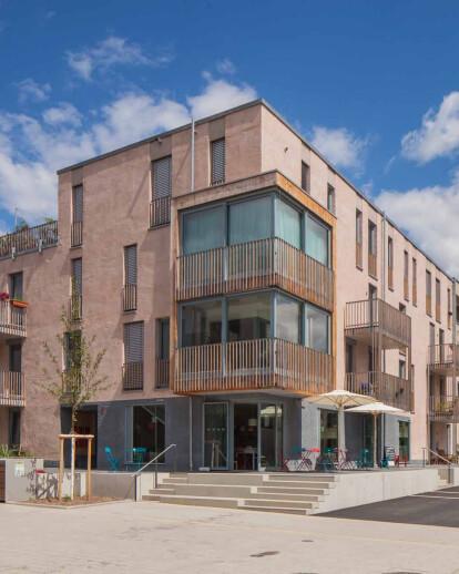 """Housing Cooperative """"en famille"""", Tübingen"""