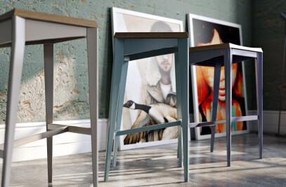 3D visualizations of the furniture