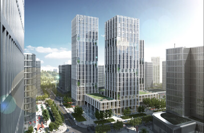 New company headquarters for energy corporation CNPEC in Shenzhen