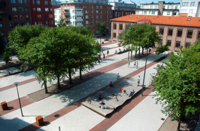 Architecture prize for social square in Halmstad