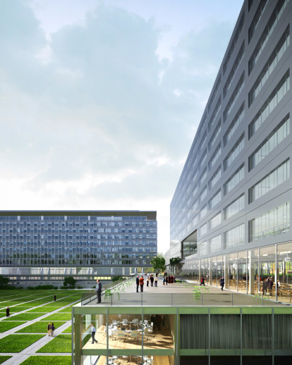 Extension of the WHO headquarter