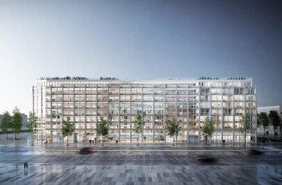 Clichy Batignolles Mixed-use development