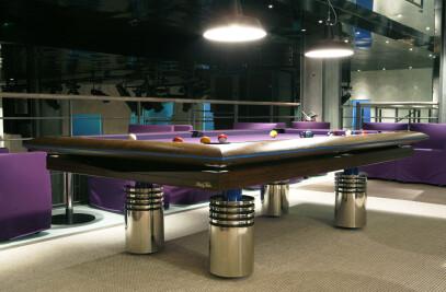 Billiard table design DJANGO