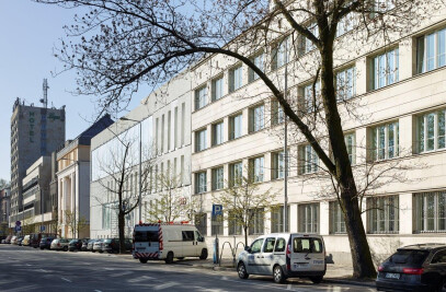 The Academy of Fine Arts in Warsaw extention