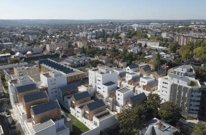 157 housing units in Nanterre