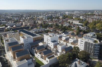 157 housing units in Nanterre